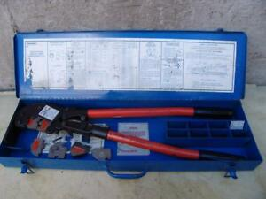 Thomas Betts Tbm6s Crimper With Dies Nice Shape