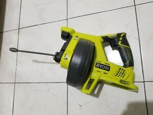 Ryobi One 18v Drain Auger Drain Plumbing Cleaning Power Tool tool Only