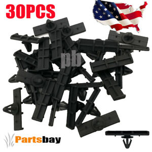 30 Fits 1994 1995 1996 1998 Ford Mustang Ground Effect Moulding Clips1999 2005