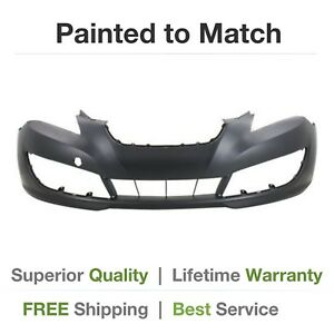 New Fits 2010 2011 2012 Hyundai Genesis Coupe Front Bumper Cover Painted