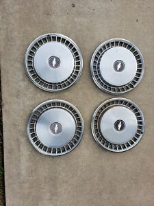 Vintage Chevy 15 Inch Hubcaps C10 Truck Impala Caprice 77 78 79