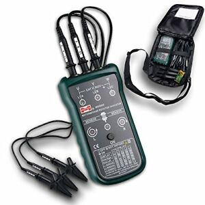 Mastech Ms5900 3 Motor Phase Rotation Indicator Meter Sequence Tester Led Field