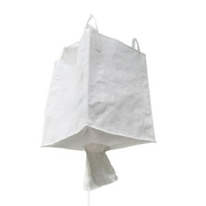 Duffle Top Spout Bottom Fibc Bag Bulk Bag Ton Bag 2204 Lbs