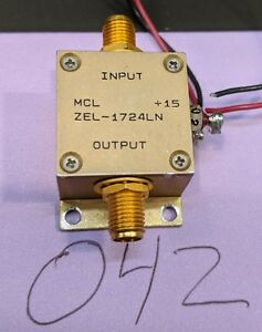 Lna Amplifier 1000 2500 Mhz Mini circuits Zel 1724ln Tested Guaranteed a42