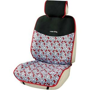 Bonform Hello Kitty Car Seat Cover Gingham Front Seat Black 2 Set 4068 52 Japan