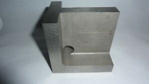 Angle Plate Tool knee 3 x4 x3 3 4 Steel Hardened precision Ground