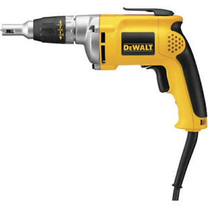 Dewalt Factory Reconditioned 6 3 Amp Vsr Drywall Screw Gun Dw272r