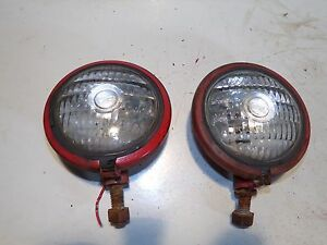 Farmall 300 Head Lights