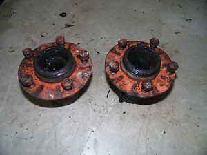 Allis Chalmers Wc Tractor Front Wheel Hubs
