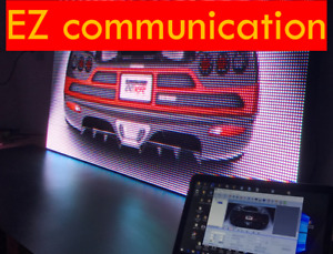 Led Sign Full Color 25 x75 Programmable Scrolling Ez Service_repair Programable