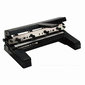 Swingline 2 4 Hole Heavy Duty 40 Sheet Punch Adjst Centers A4 Compatible