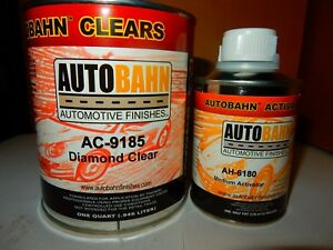 Ac9185 4 1 Quart Kit Mix 4 1 Comparable To Wet Wet Diamond Clear Coat High Solid