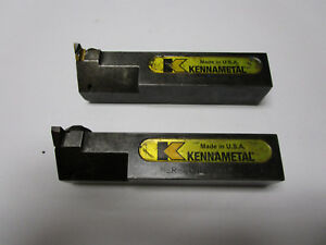 qty 2 Kennametal Ner 204d Top Notch Tool Holder 1 1 4 Shank