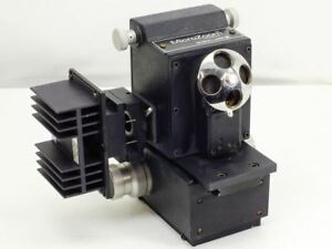 Bausch Lomb Microzoom Vintage Microscope Head With 4 Objective Ports