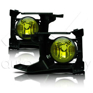 Fit 2018 Forester Fog Lights Glass Lens W wiring Kit Yellow