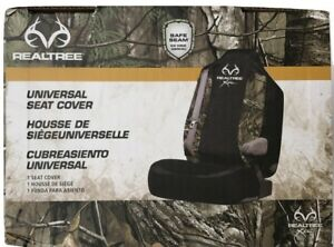 Realtree Universal Seat Cover Camo With Black Suv Truck Car Van Nwt