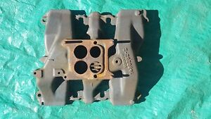 Oem 1958 Cadillac Intake Manifold Single 4 Barrel
