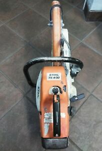 Made In Germany Stihl Ts 400 Concrete Saw For Parts Or Repair Has Compression
