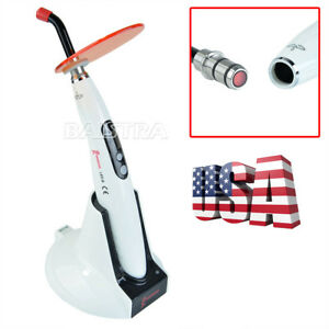 Woodpecker Dental Led B Wireless Curing Light Lamp 1200 Mw cm2 Usps Original