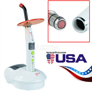 Woodpecker Dental Led c Wireless Cordless Curing Light Lamp 1200mw cm2 Original
