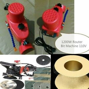 Wet Polisher Router Bit Machine Polishing Pad Profile Wheel Stone Granite Edge