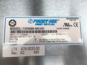Power One Fxp6000 48s