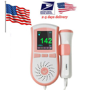 Baby Sound Fetal Doppler Baby Heart Beat Monitor Pregnancy 3mhz Probe Gel 3 Type