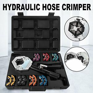 1500 A c Hydraulic Hose Crimper Tool Kit Hand Tool Crimping Set Hose Fittings Wd
