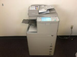 Canon Imagerunner Adv C5240 Color Copier Network Printer Scan Fax Int Finisher