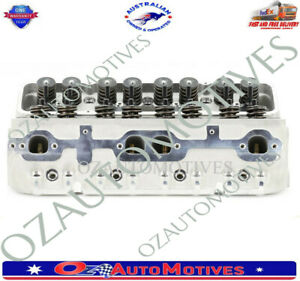 Chevy Sb 302 327 350 400 200cc180cc Straight Plug Gen1 Assembled Cylinder Head