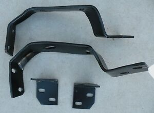 Cadillac Cad Front Bumper Mounting Brackets Support Oem 64 1964