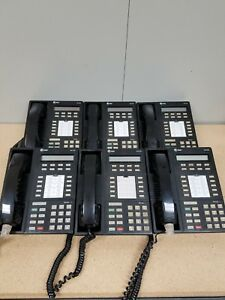 At t Lucent Avaya 8410d 106705122 Used Black Office Phones Lot Of 6