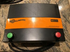 Gallagher M600 110v 6 Joule Electric Fence Charger