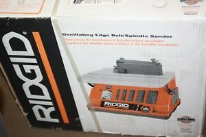 NEW RIDGID Oscillating Edge Belt Spindle Sander Tool Built-In Sawdust Collection