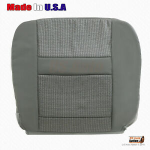 2007 08 2009 Dodge Ram 2500 Driver Side Bottom Cloth Replacement Seat Cover Gray