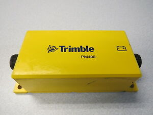 Trimble Pm400 Power Control Module For Gcs900 Gps laser Machine Control