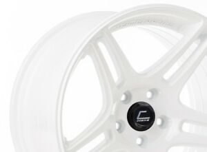 Cosmis Racing S5r 18x10 5 20 5x114 3 Full Gloss White set Of 4