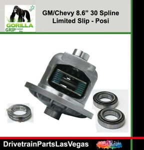Gm Chevy Posi Limited Slip 8 6 10 Bolt Fits 2000 To 2008 Install Kit 1 2 Ton New