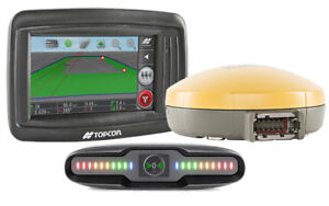 Topcon X14 Guidance Kit With Sgr1 Gps Receiver Sl 21 External Lightbar