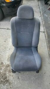 96 97 98 99 00 Honda Civic Front Left Drivers Seat Oem Gray Cloth