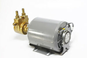 Emerson Carbonator Motor With Procon Pump Assembly Cat 1003 Excellent