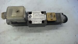 Rexroth 4we6e33 w220 50nz5l Valve W Wh35 4 s106 Solenoid 220 Volt 50 Hz