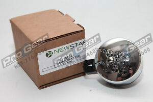 Replacement Eaton Fuller A4491 13 Speed Transmission Shift Knob Round Chrome