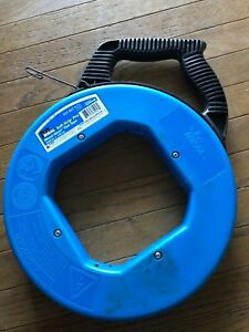 Ideal 31-057 Tuff-Grip Steel Fish Tape 240 ft long x 18 inch wide x .060 inch