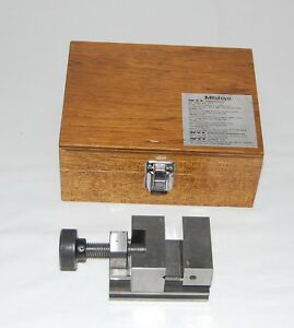 Mitutoyo Precision Vise 986 111 Machinist Tool Maker Japan Mill