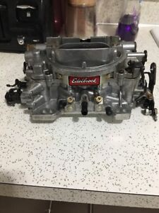 Edelbrock 1805 Thunder Series Avs 650 Cfm 4 Barrel Carburetor Manual