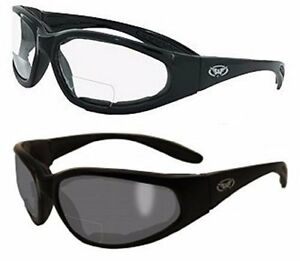 2 Pairs 2 0 Bifocal Global Vision Eyewear Hercules Anti fog Safety Glasses Eva