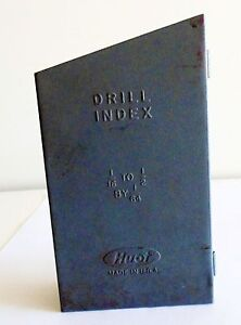 Huot Drill Index Number 1 16 1 2 By 1 64 s Td12 7