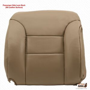 1995 1996 1997 1998 1999 Chevy Tahoe Suburban Passenger Top Leather Cover Tan