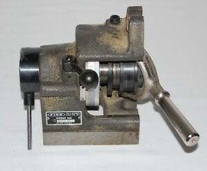 Finn Speed dex 360 5c Indexing Fixture Collet Indexer Precision Usa